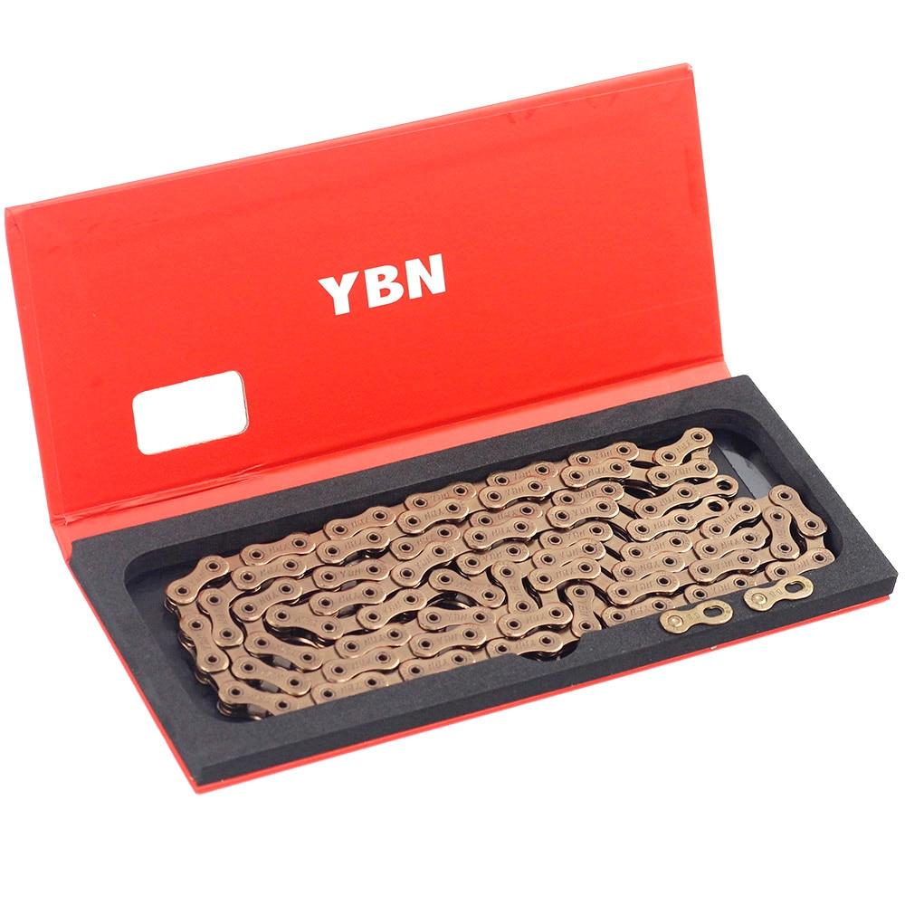 Купить ybn 11 цепь для скоростного велосипеда бромптона sla h11 tig