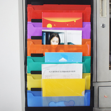 Hanging Organizer Holder Storage Rack Wall Pocket Expanding File Folder Portable Document A4 Size Letter Holder 6 Folders Bag