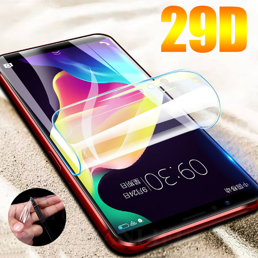 29D Screen Protector Hydrogel Film For LG K4 K10 K8 K3 2016/2017 Protective Film For LG G8 G7 G5 V50 V40 ThinQ Film Not Glass
