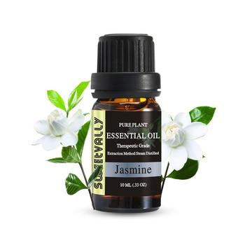 цена на Sweetvally10ml Aromatic Aromatherapy Diffusers Aroma Oil Pure Plant Essential Oil Tea tree Jasmine Oil Natural Massage Relax
