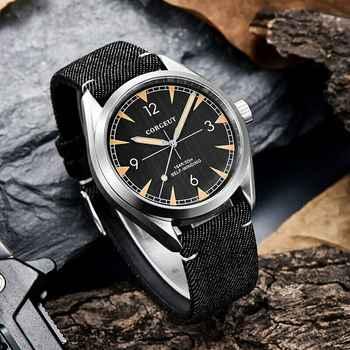 Corgeut 41mm mnner uhr miyota 8215 Automatische Luxus Mechanische herren Uhr