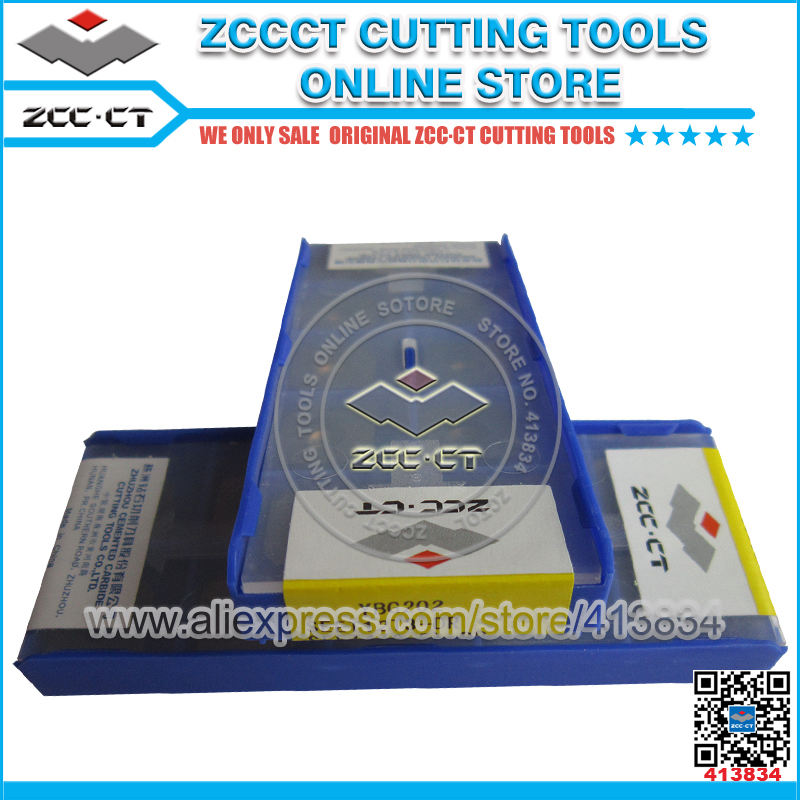 Free Shipping ZCC.CT Milling Cutter SEET12T3-DR YBG202 Zccct Cutting Tools SEET12T3 Cnc Milling Inserts SEET For P M K Material