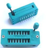 DHL/EMS 100 piezas Universal 16pin ZIF enchufes de soldadura IC Test A8 Accesorios de batería y accesorios de cargador     -