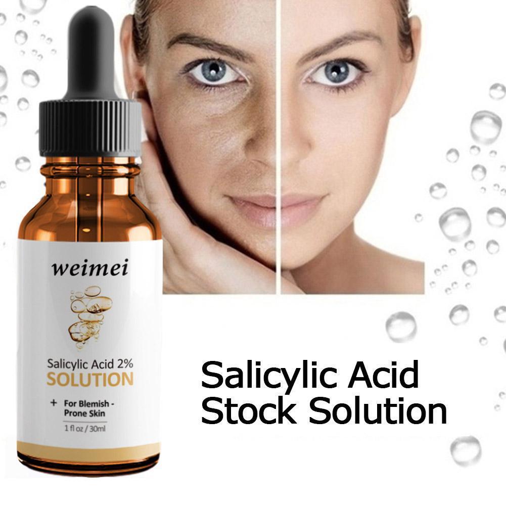 Naturals Salicylic Acid Solution Blemish-Prone Skin Skin Tone Shrink Hydrating Brighten Pore Z8E2