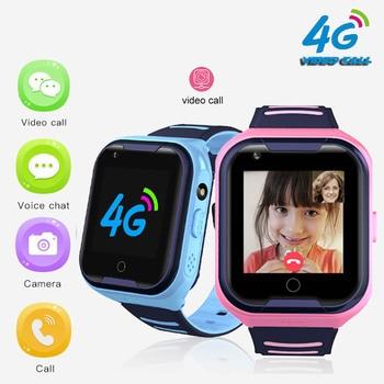 A36E 4G smart kids watch waterproof IPX7 Wifi GPS Video call Monitor Tracker clock Students Wristwatch kids children GPS watch 1