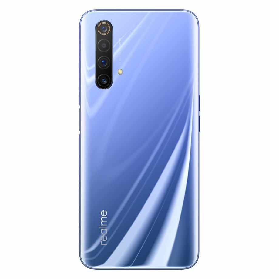 هاتف ذكي من Realme X50 بذاكرة وصول عشوائي 5 جيجا بايت وذاكرة قراءة فقط 256 جيجا بايت/128 جيجا بايت وذاكرة قراءة فقط 12 جيجا بايت/8 جيجا بايت وذاكرة وصول عشوائي 6.57 بوصة سنابدراجون 765 جيجا بايت وكاميرا رباعية الكاميرا الرئيسية بدقة 64 ميغا بيكسل وبطارية 4200 مللي أمبير في الساعة وخاصية NFC بذاكرة وصول عشوائي 5 جيجا