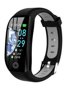 GPS Fitness Bracelet Blood-Pedometer Smart-Wristband Cardio Heart-Rate Health Pressure-Measurement