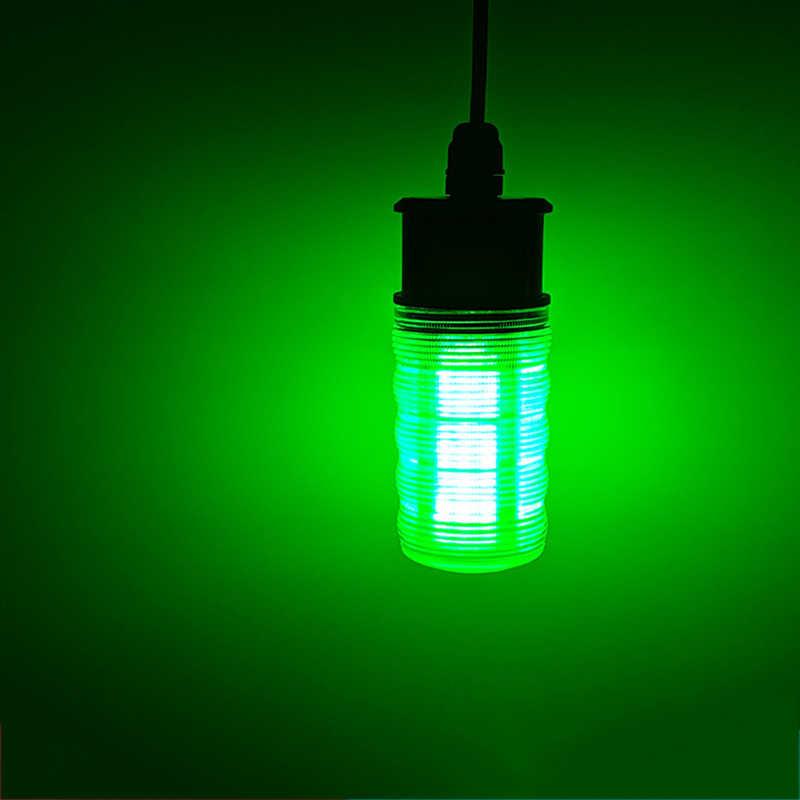 LED Unterwasser Tauchnacht Angeln Licht Tintenfisch Köder Licht Blinklampe