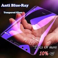 Anti blu In Vetro Temperato Per Xiaomi Mi 9T Pieno Della Copertura Della Protezione Dello Schermo Per Xiomi Mi A3 A2 A1 Redmi nota 6 7 7A MAX 3 2 Pellicola