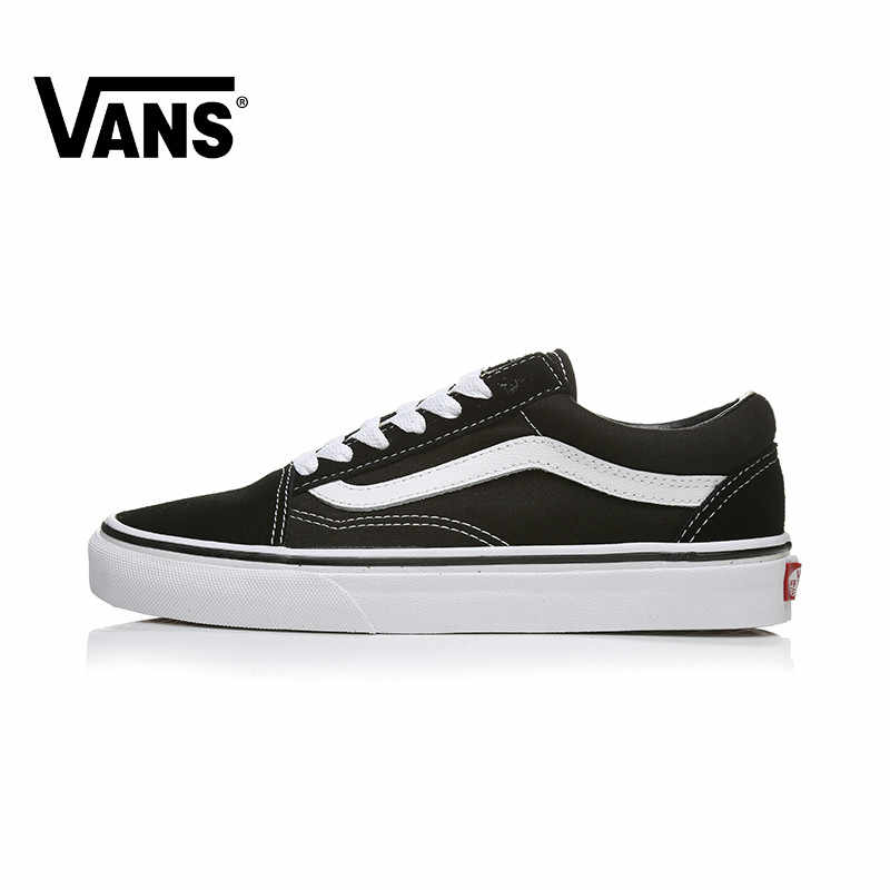 VANS OLD SKOOL Men's and Women's Skateboarding Shoes Classic Style Leisure Red Sneakers Fashion Low Top Canvas Cozy Lightweight