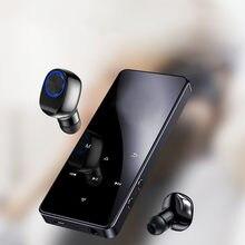 Bluetooth 5.0 de alta fidelidade jogador mp4 walkman sem perdas walkman leitor música portátil áudio com rádio fm ebook recorder 2020