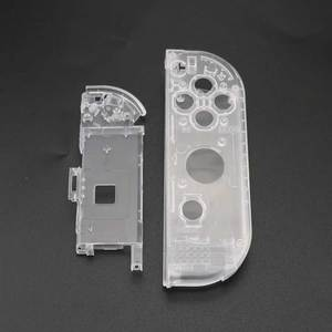 Image 5 - YuXi Clear White Plastic L R Housing Case Cover for Nintend Switch NS NX Joy Con Console Shell Replacement Parts