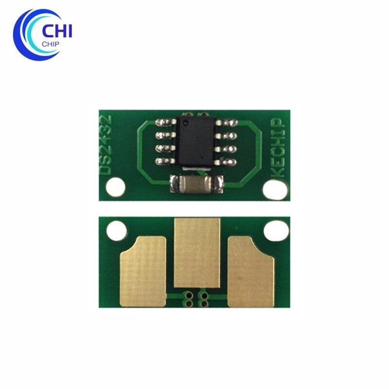 4pc tambor chip 4062213 4062513 4062413 4062313 unidade de tambor chip para konica minolta magicolor 7400 7440 7450 unidade de imagem chip de reset