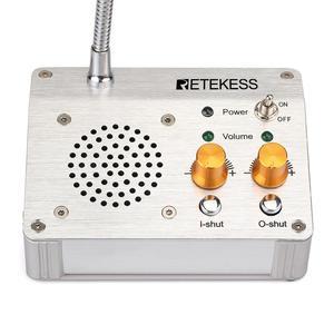 Image 2 - RETEKESS TW104 3W Digital Full Duplex Window Counter Intercom System For Bank Office pharmacy Dining Hall  Counter Voice System