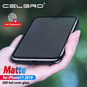 Image 3 - Volledige Cover Frosted Glas Film Voor Iphone 11 Iphone11 Pro Max Glas Bescherming Matte Beschermende Glas Voor Iphone11 Pro Xi xs Xr X
