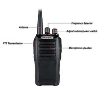 vhf uhf 2pcs ניו Baofeng UV6 מכשיר הקשר 8W VHF & UHF SMA-F משדר מוצפן כף יד UV6 BF UV6 Ham Radio תקשורת Anytone (2)