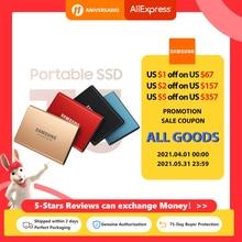 SAMSUNG T5 Portable SSD 500GB 1TB  2TB  pssd USB 3.1 External Solid State Drive original and new