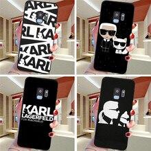 Karl Lagerfeld For Samsung Galaxy S6 S7 Edge S8 S9 S10 Plus Lite Note 8 9 10 A30 A40 A50 A60 A70 M10 M20 phone Case Cover etui karl lagerfeld for samsung galaxy s6 s7 edge s8 s9 s10 plus lite note 8 9 10 a30 a40 a50 a60 a70 m10 m20 phone case cover etui