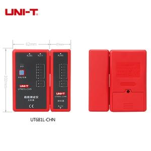 Image 4 - UNI T اختبار كابل الشبكة الرقمية RJ45/RJ11/BNC/HDMI LAN السيارات إيثرنت أداة إصلاح الهاتف LED خط مدقق