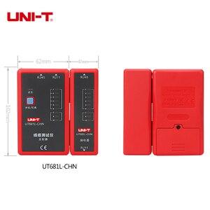 Image 4 - UNI TデジタルネットワークケーブルテスターRJ45/RJ11/bnc/hdmi lan自動イーサネット電話修復ツールledラインチェッカー