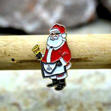 Классические броши в виде Санта Клауса брошь форме масонской