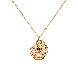 Модные ожерелья из нержавеющей стали 316l с цепочкой для женщин и мужчин, роскошный дизайн, необычный круглый кулон с кубическим цирконием, юв...