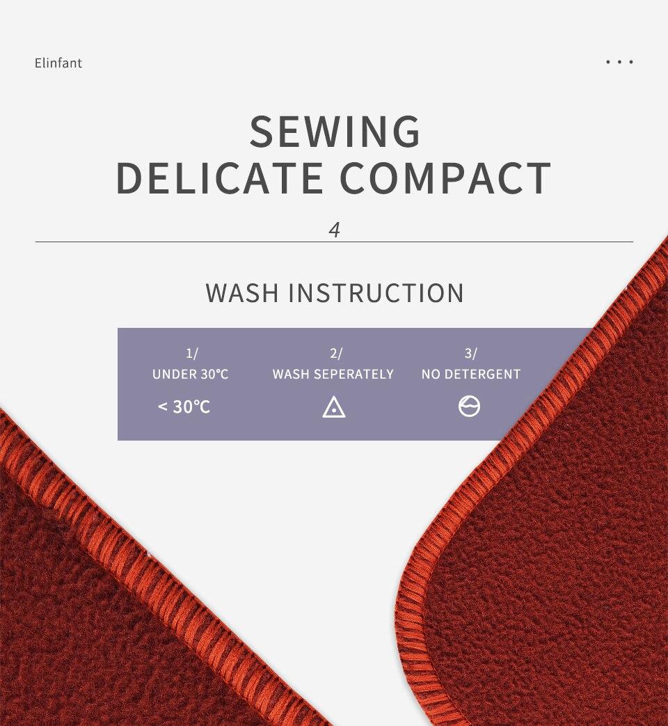 Elinfant Coffee Fiber Diaper Elastic Inserts for Baby Nappies Reusable Washable Cloth Diaper Insert Fraldas De Pano 5pcs/Pack (10pcs diaper insert)