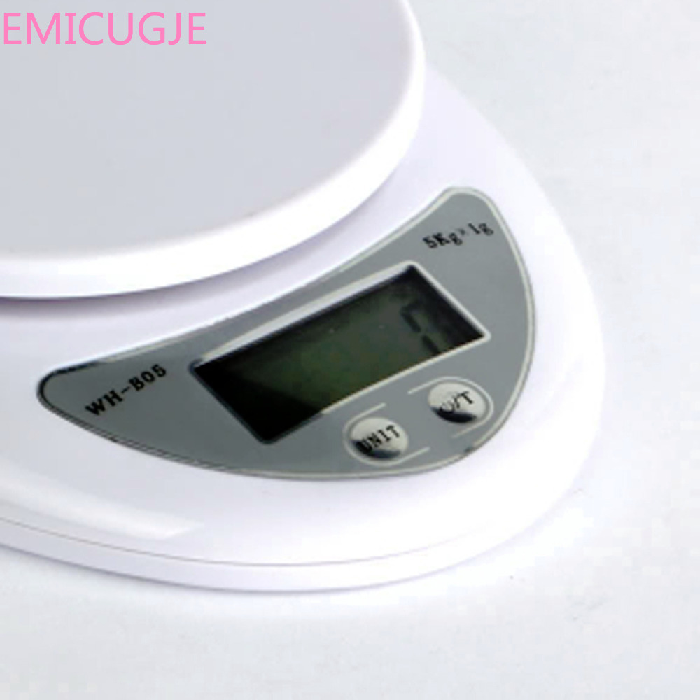 Scales Balance Weight Weighting LED Electronic Kitchen Gadget 5000g/1g 5kg Kitchen Scales Food Diet Postal Kitchen Digital