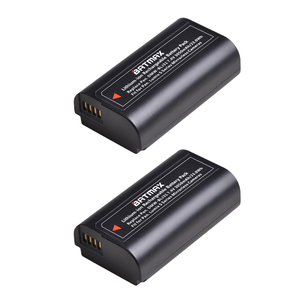 Image 2 - Аккумулятор DMW BLJ31 DMW BLJ31 2 шт. + двойное зарядное устройство USB с ЖК дисплеем для беззеркальных камер Panasonic LUMIX S1, S1R ,S1H, LUMIX S