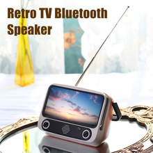 Retro Bluetooth Speaker Portable Phone Holder Radio Plug Card Stereo Equipment VDX99(China)