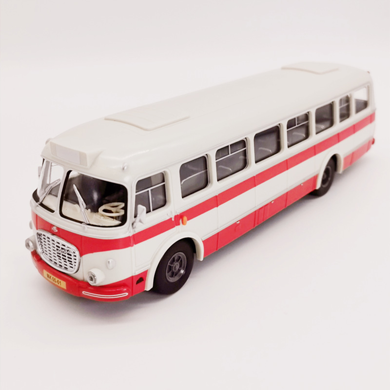 Original 1:43 Skoda Corosa 706 ABS Plastic Car Model,high Simulation Classic Bus Model,exquisite Collection Gifts,free Shipping
