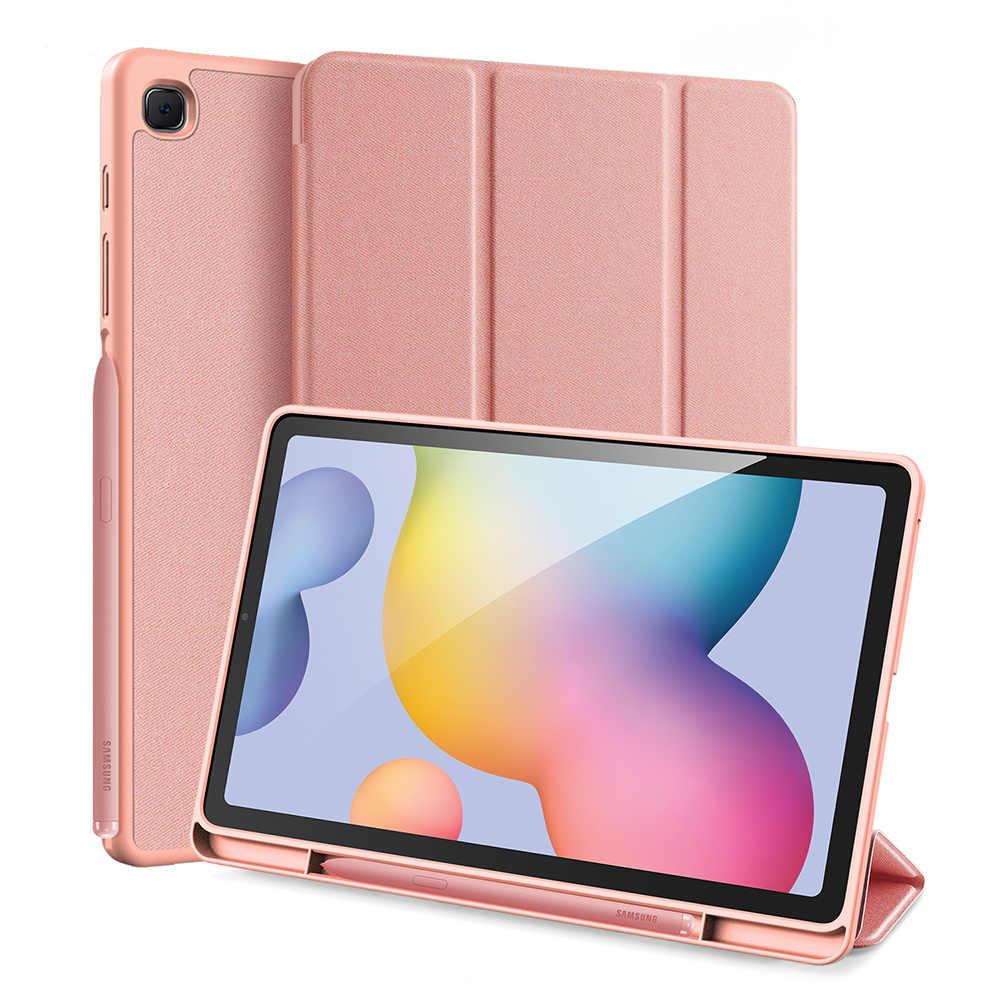 Gligle Dành Cho Samsung Galaxy Samsung Galaxy Tab S6 Lite 10.4 SM-P610 SM-P615 Bao Có Nam Châm + Bút Cảm Ứng + Miếng Dán Màn Hình