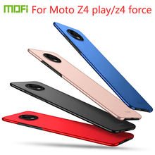 For Motorola Z4 play Case Cover MOFI Hard pc z4 Phone Shell Fitted Force