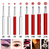 100pcs Disposable Sterilized Micro Needle Microblading Shading Blade Tattoo Needle Semipermanent manual Fog Eyebrow & Lip Needle