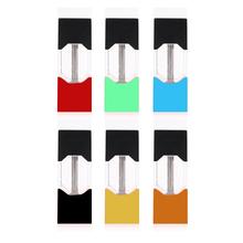 4 sztuk paczek waporyzator strąki zamknięty wkład systemowy do urządzenia JUUL elektroniczny papieros BCD strąki tanie tanio CN (pochodzenie) juul pod Z tworzywa sztucznego Wymienne