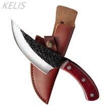 Japanese Hand-forged Multifunctional Kitchen Boning Knife Slicing Knife Hunting Knives Slaughter Knife Cuchillos De Cocina Faca