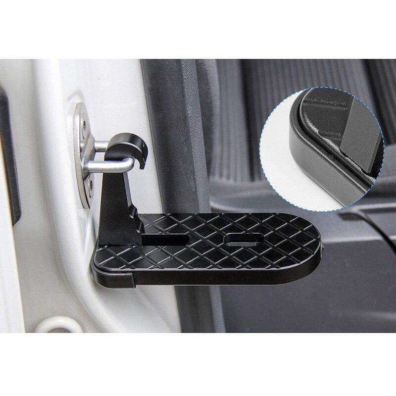Bagażnik dachowy na dachu samochodu pedał pomoc pojazdu łatwy dostęp do drzwi krok zaczepiony na pedały samochodowe podnóżki dla Jeep ciężarówka suv