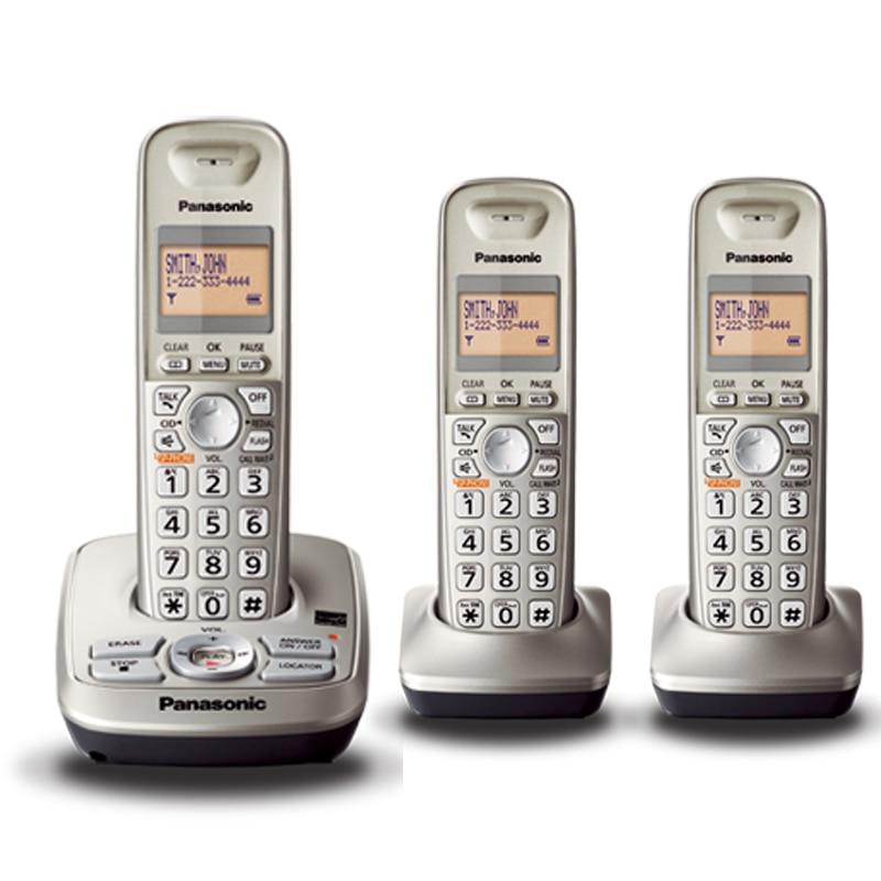 Стационарный беспроводной телефон с автоматом для ответа, голосовая почта без рук, ЖК-дисплей с подсветкой, цифровой беспроводной телефон д...