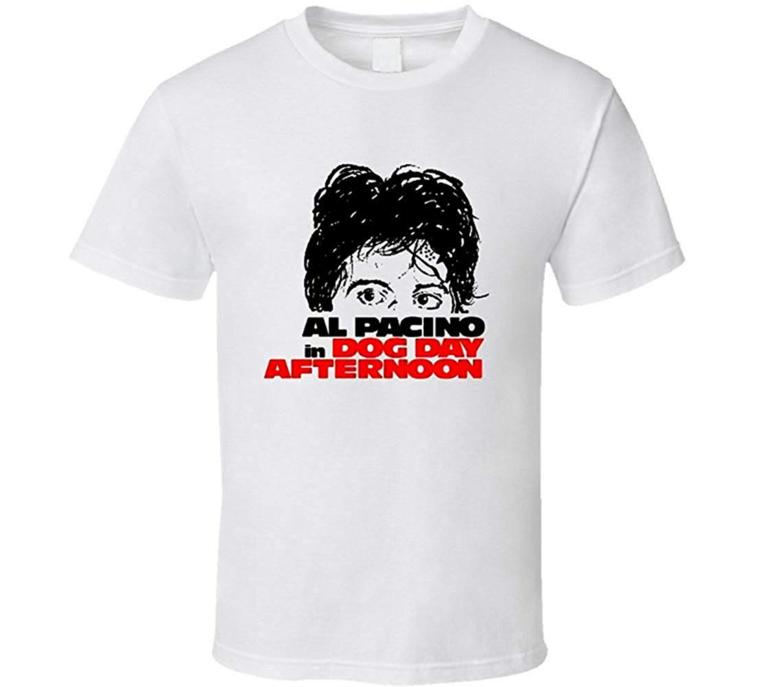 Jinan zhongying T-Shirt Dog Day Afternoon Movie t-Shirt Al Pacino Bank Robbery Movie Retro 70's Cool image