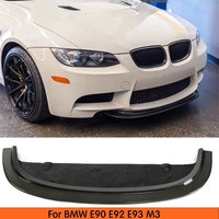 Front Lip Bumper Spoiler Carbon Fiber Splitter For BMW E90 E92 E93 M3 2005 2011