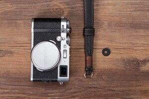 Image 5 - Original Handmade Doppel seite Verdicken Echtem Leder Kamera Handgelenk Strap Hand Armband für Sony Leica Canon Fuji Nikon Olympus
