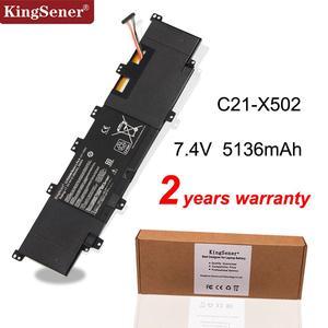 KingSener New C21-X502 Laptop Battery for ASUS VivoBook X502 X502C X502CA S500 S500C S500CA PU500C PU500CA 7.4V 38WH(China)