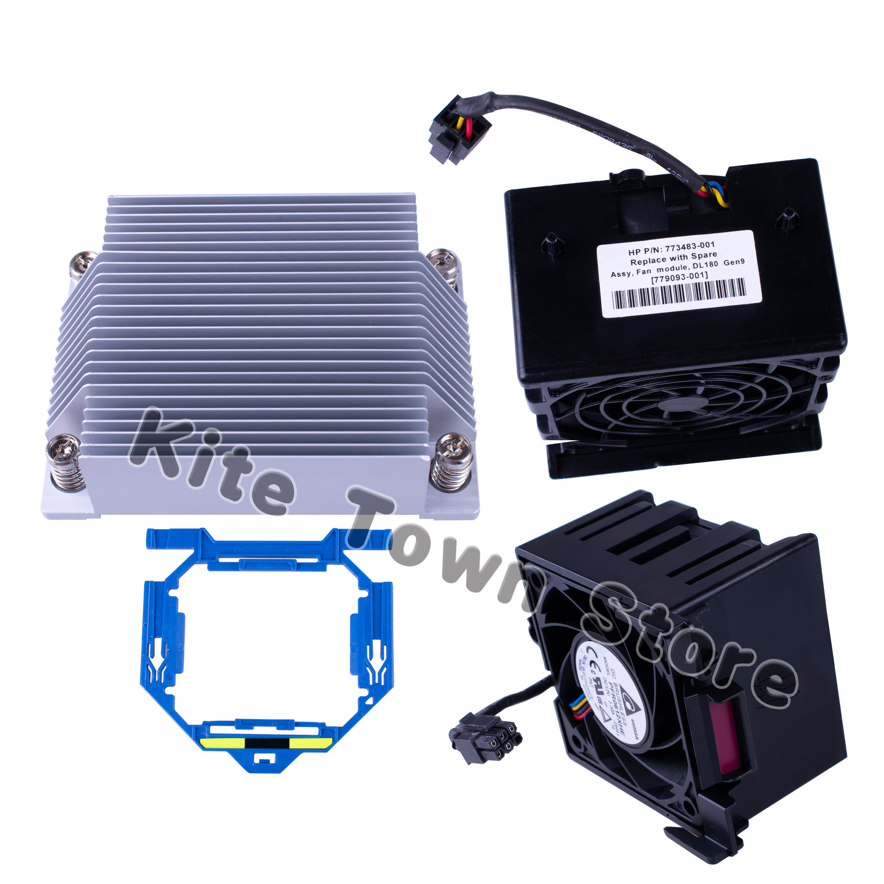 NEW HP ProLiant DL180 Gen9 CPU Cooling Heatsink 773194-001 779091-001