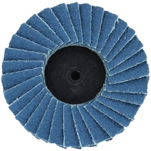 10Pcs 2 Inch Flat Flap Disc Quick Change Sanding Discs Roloc Surface Conditioning Discs Zirconia Sanding Disc