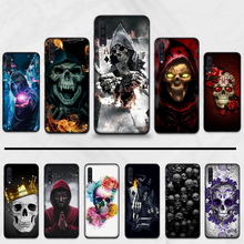 Grim Reaper Skull Skeleton Horror Phone Cover For Samsung Galaxy M10 20 30 A 40 50 70 71 6S A2 6 9 2018 J7 CORE PLUS STARS105GC8(China)