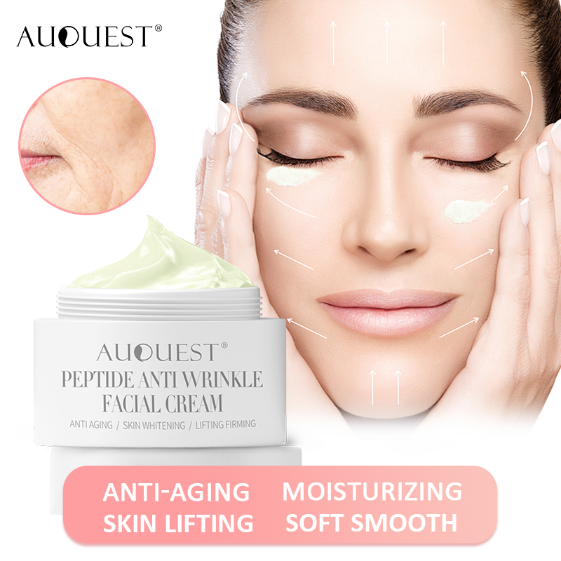 AuQuest Peptides Face Cream 30g Skin Moisturizing Anti-wrinkle Aging Cream For Firming & Lifting Skin Repair Facial Care