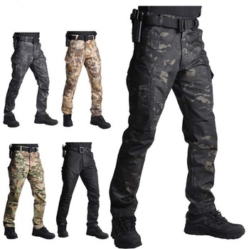 HAN dzikie spodnie sportowe męskie kamuflaż wojskowe spodnie z kieszeniami spodnie taktyczne spodnie wojskowe męski damski wiosenny jesień 2021 tanie i dobre opinie HAN WILD CN (pochodzenie) Dobrze pasuje do rozmiaru wybierz swój normalny rozmiar POLIESTER Hunting Pants Windproof Fit true to size