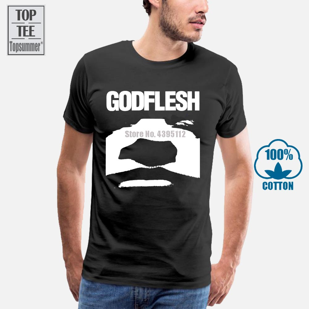 2019 manches courtes coton t-shirts homme vêtements chair de dieu t-shirt