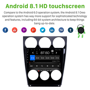 Image 3 - Seicane 2GB RAM Android 10.0 Car GPS Navigation Radio Stereo Unit Player for Old Mazda 6 2004 2005 2014 2015 Support DAB+ OBD2
