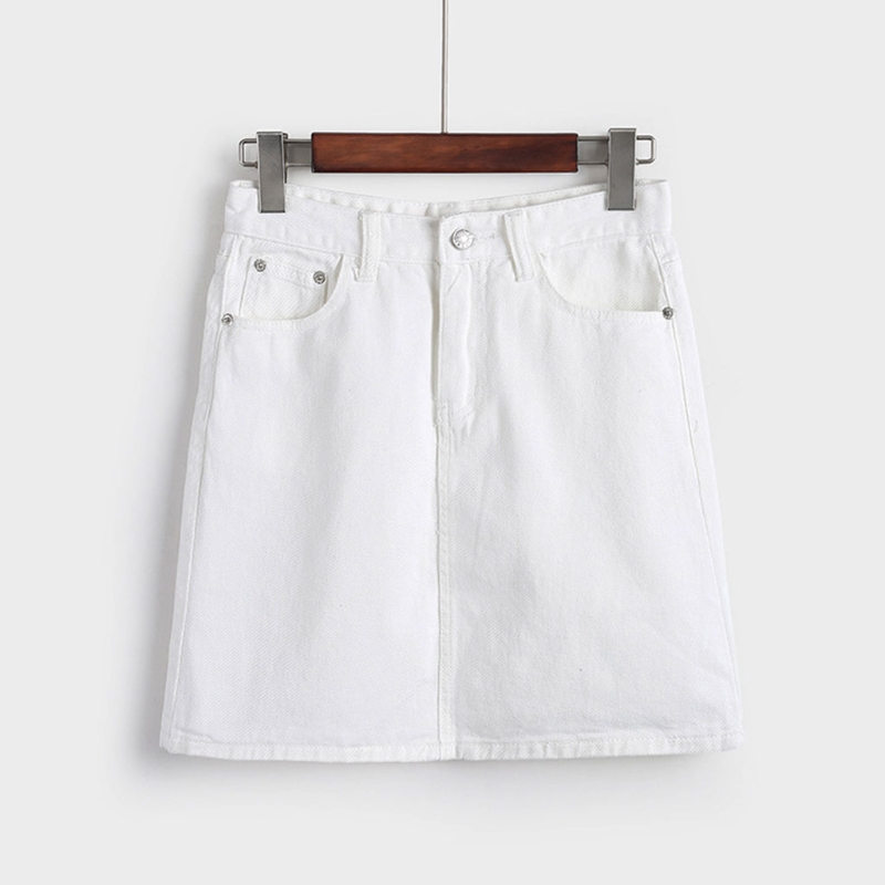 Jean Short Mini Denim Skirt For Women CORD